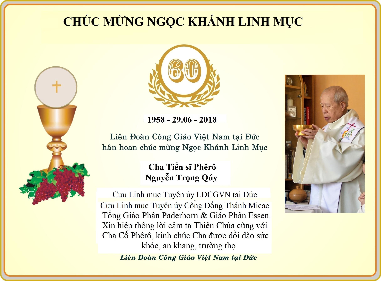 Chuc mung Ngoc Khanh LM Cha Quy 2