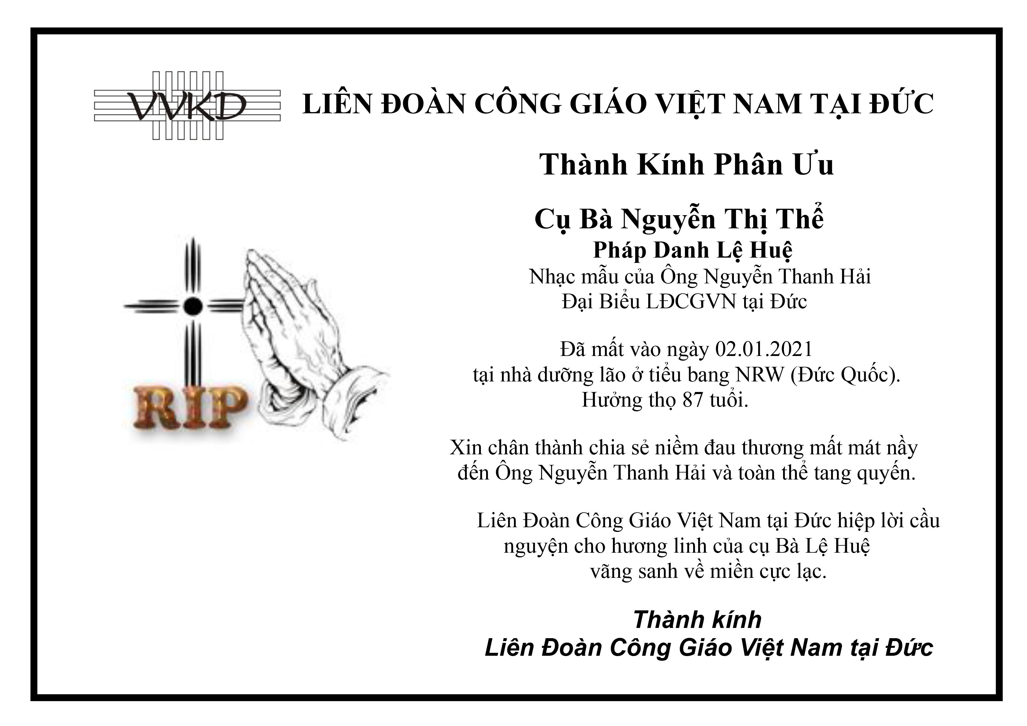 Cu Ba Nguyen Thi The